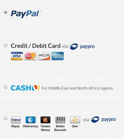 Cactusvpn Payment Options