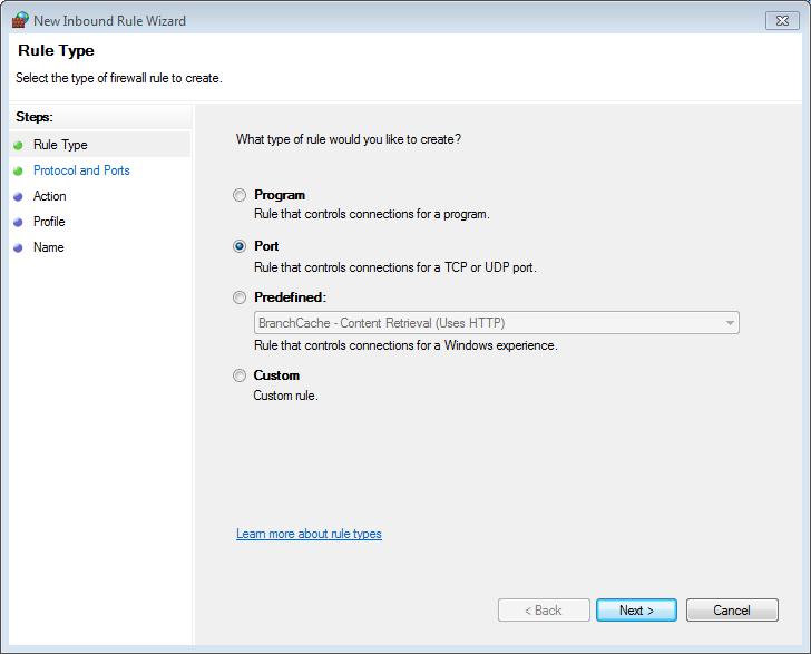 Opening Ports in Windows and Ubuntu